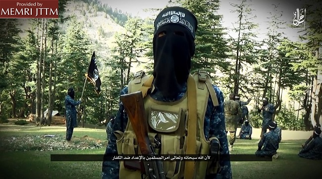 ISIS Militant In Afghanistan, Speaking In Dari: 'We Say To Obama And All Other Infidels That We Will Also Establish The Islamic State In The White House, Khorasan, And The Rest Of The World'