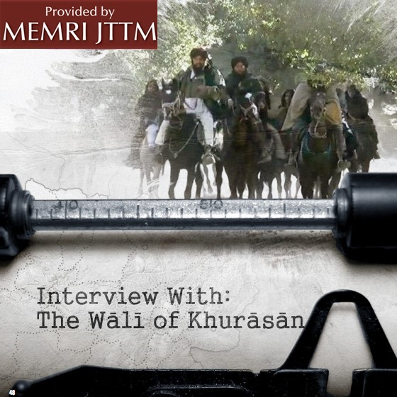 In Interview In Issue 13 Of ISIS English-Language Magazine 'Dabiq': ISIS's Wilayat Khurasan Chief Saeed Khan Says 'There's A Big Opportunity… For The Islamic State To Expand' To Kashmir