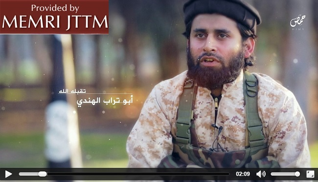 ISIS Launches Major Video Campaign Targeting India, Shows Indian Youths Speaking In Urdu And Swearing Oaths Of Fealty To ISIS Leader Abu Bakr Al-Baghdadi
