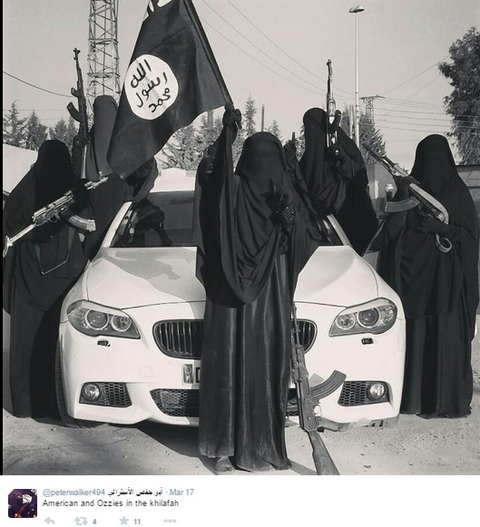 American ISIS Member Joins Women's Clique In Syria