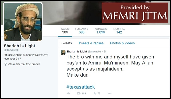 Texas Attackers Communicated With Islamic State (ISIS) Operatives On