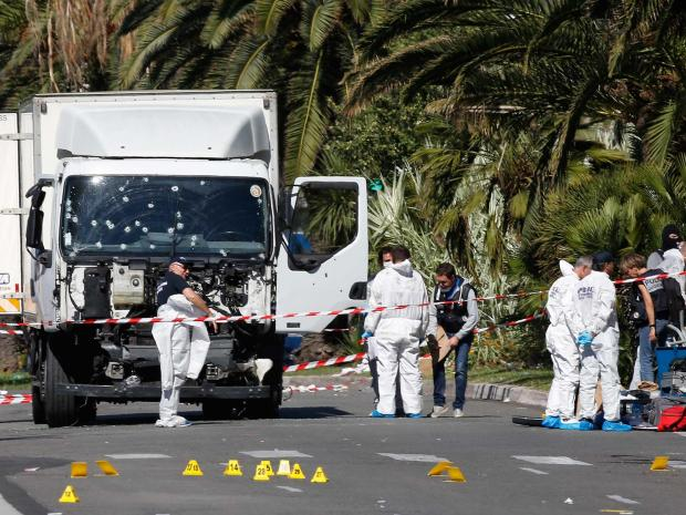 Nice Attacker Emulated Methods Previously Advocated By ISIS, AQAP, And Other Jihadis, Who Called To Use Vehicles As Weapons To Run Over And 'Mow' People